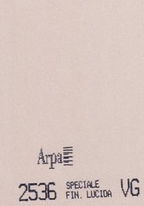 2536 - это название цвета и покрытия для категории Пластики ARPA Фантазийные