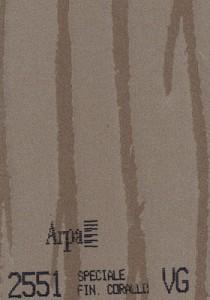 2551 - это название цвета и покрытия для категории Пластики ARPA Фантазийные