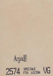 2574 - это название цвета и покрытия для категории Пластики ARPA Фантазийные