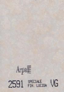 2591 - это название цвета и покрытия для категории Пластики ARPA Фантазийные