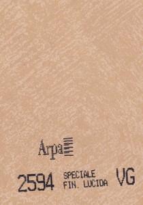 2594 - это название цвета и покрытия для категории Пластики ARPA Фантазийные
