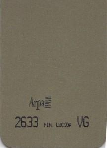 2633 - это название цвета и покрытия для категории Пластики ARPA Фантазийные