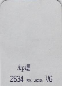 2634 - это название цвета и покрытия для категории Пластики ARPA Фантазийные