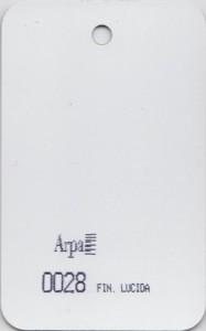 0028 - это название цвета и покрытия для категории Пластики ARPA Однотонные