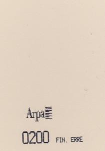 0200 - это название цвета и покрытия для категории Пластики ARPA Однотонные