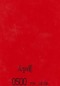 0500 - это название цвета и покрытия для категории Пластики ARPA Однотонные