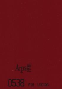 0538 - это название цвета и покрытия для категории Пластики ARPA Однотонные