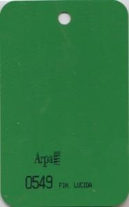 0549 - это название цвета и покрытия для категории Пластики ARPA Однотонные