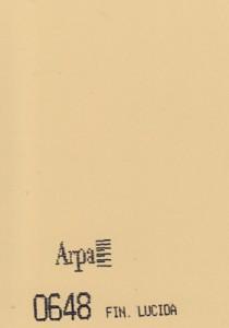 0648 - это название цвета и покрытия для категории Пластики ARPA Однотонные