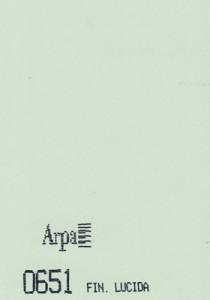 0651 - это название цвета и покрытия для категории Пластики ARPA Однотонные