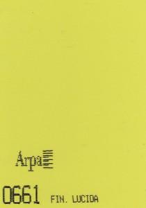 0661 - это название цвета и покрытия для категории Пластики ARPA Однотонные