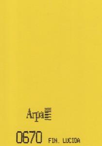 0670 - это название цвета и покрытия для категории Пластики ARPA Однотонные