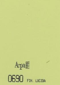 0690 - это название цвета и покрытия для категории Пластики ARPA Однотонные