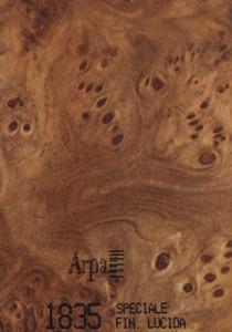 1835 - это название цвета и покрытия для категории Пластики ARPA под Дерево