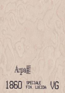 1860 - это название цвета и покрытия для категории Пластики ARPA под Дерево