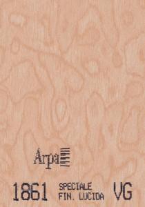 1861 - это название цвета и покрытия для категории Пластики ARPA под Дерево
