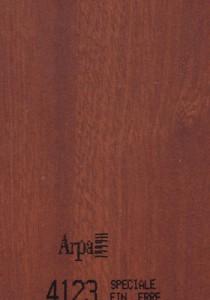 4123 - это название цвета и покрытия для категории Пластики ARPA под Дерево