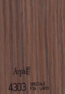 4303 - это название цвета и покрытия для категории Пластики ARPA под Дерево