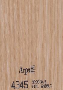 4345 - это название цвета и покрытия для категории Пластики ARPA под Дерево