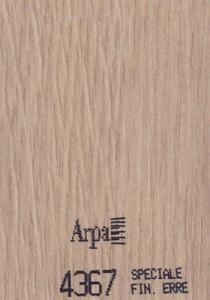 4367 - это название цвета и покрытия для категории Пластики ARPA под Дерево