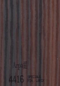 4416 - это название цвета и покрытия для категории Пластики ARPA под Дерево
