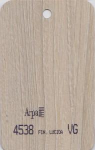 4538 - это название цвета и покрытия для категории Пластики ARPA под Дерево