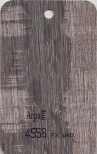 4558 - это название цвета и покрытия для категории Пластики ARPA под Дерево