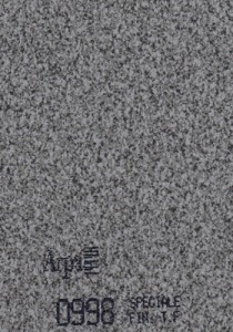 0998 - это название цвета и покрытия для категории Пластики ARPA под Камень