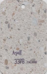 3378 - это название цвета и покрытия для категории Пластики ARPA под Камень