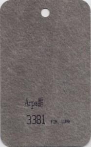 3381 - это название цвета и покрытия для категории Пластики ARPA под Камень